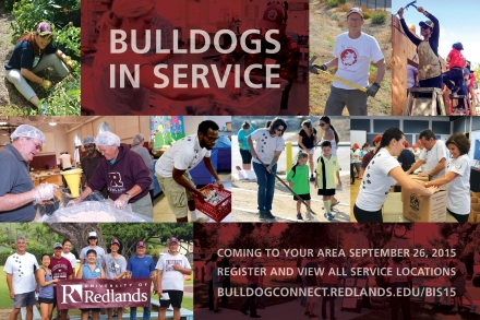 Bulldogs in Service 2015 Postcard Front