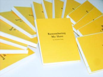 Remembering My Hero Book