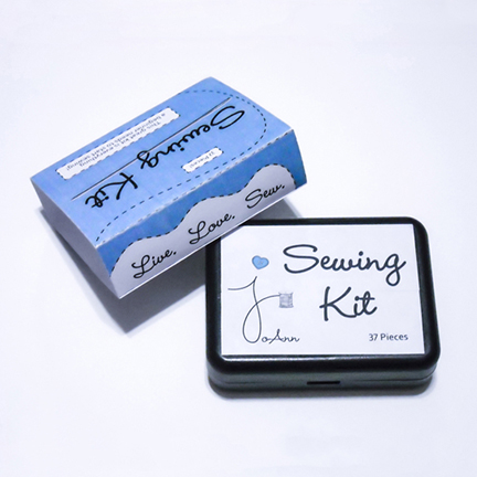 Joanns Sewing Kit with Logo Redesign