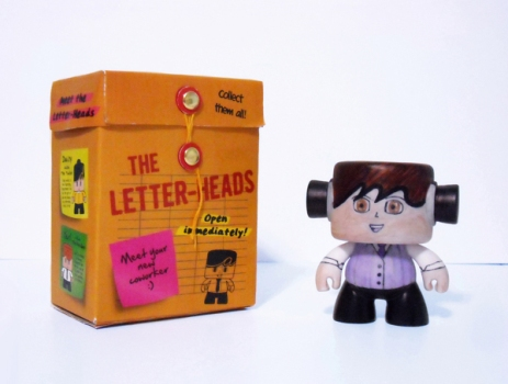 Letter-Heads Toy