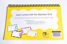 Cursive Writing Practice Book Back Cover