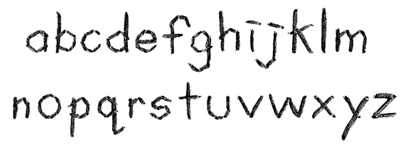 Life's Thread Font Lowercase
